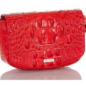 BRAHMIN Lil Candy Apple Melbourne Red  Belt Bag